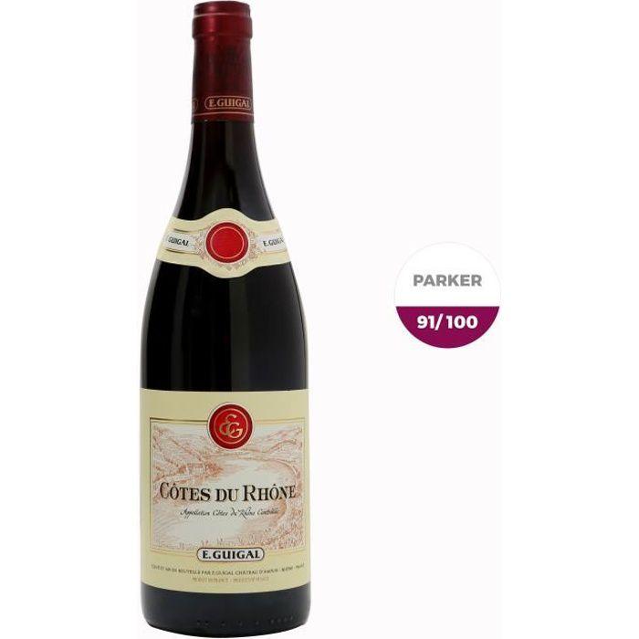 E. Guigal 2017 Côtes-du-Rhône - Vin rouge de la Vallée du Rhône