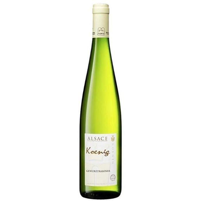 Koenig 2017 Gewurztraminer - Vin blanc d'Alsace