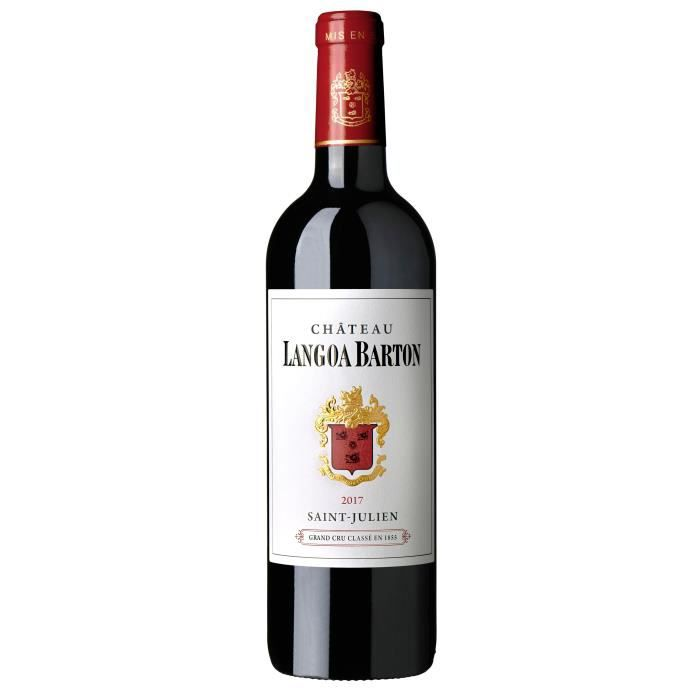 Château Langoa Barton 2017 Saint Julien Grand Cru - Vin rouge de Bordeaux