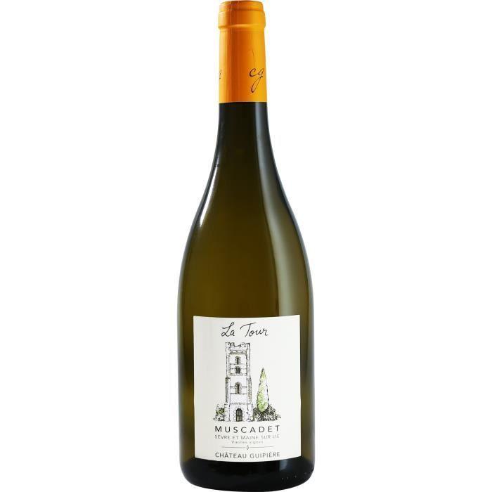 Château Guipière La Tour 2018 Muscadet Sèvre et Maine sur Lie - Vin blanc de Loire