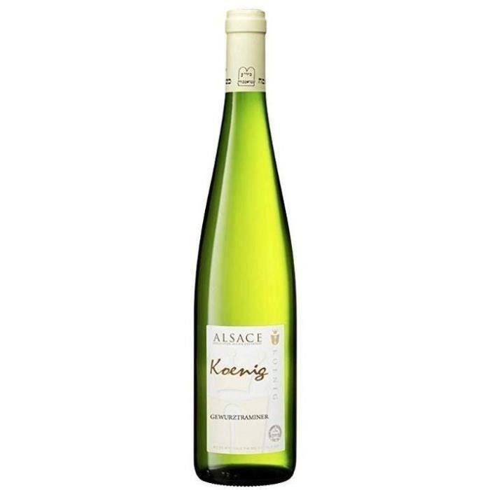 Koenig 2018 Gewurztraminer - Vin blanc d'Alsace