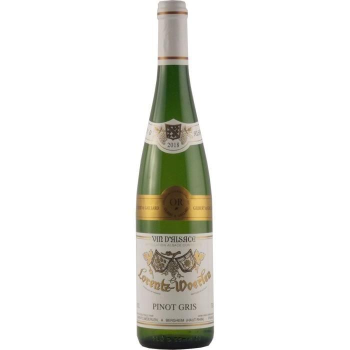 Gustave Lorentz 2018 Pinot Gris - Vin blanc d'Alsace