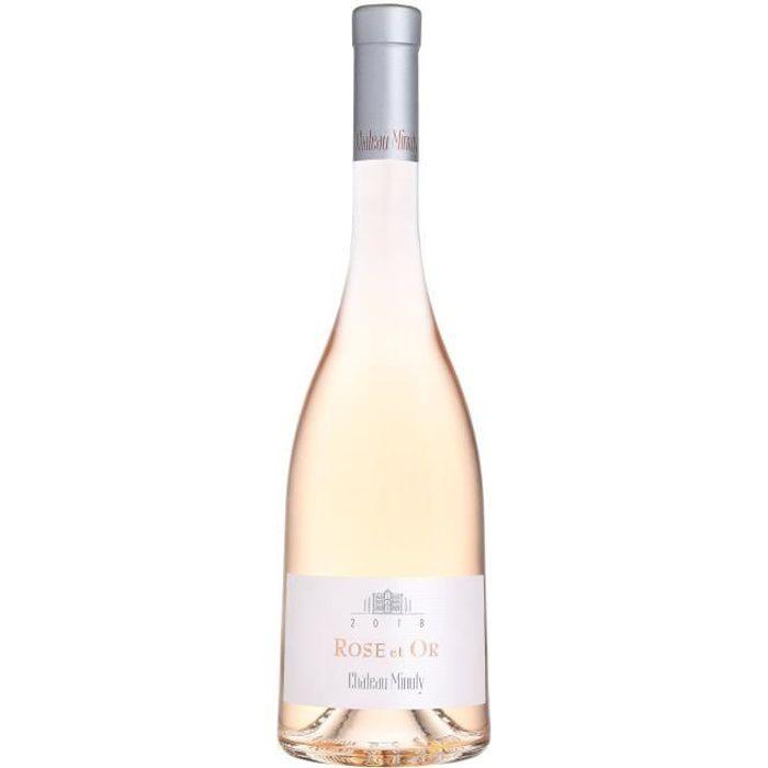 Château Minuty Rose et Or 2018 Côtes de Provence - Vin rosé de Provence