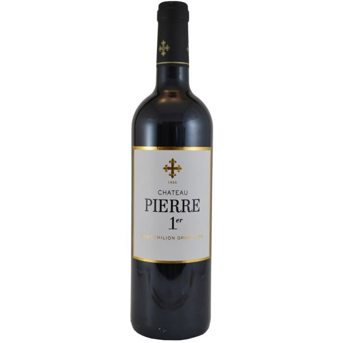Château Pierre 1Er 2018 Saint-Emilion Grand Cru - Vin rouge de Bordeaux