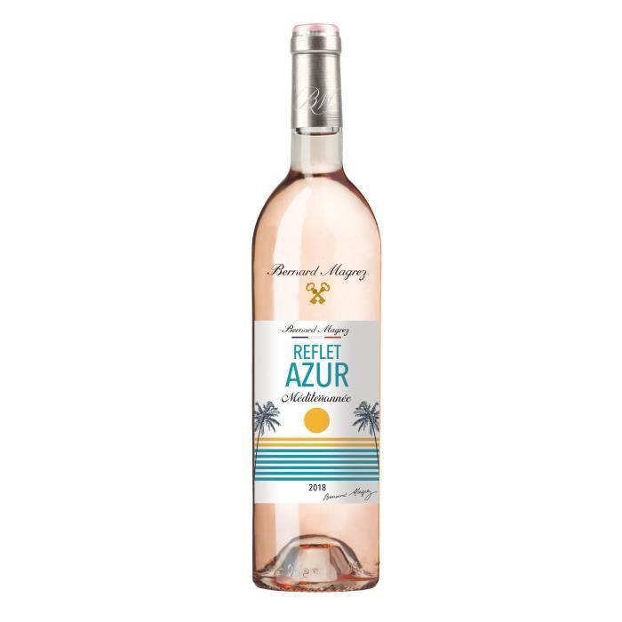 BERNARD MAGREZ Reflet Azur 2018 IGP Méditérranée - Vin rosé