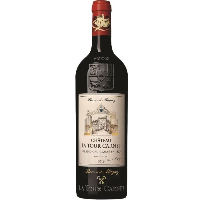 Château La Tour Carnet 2018 Haut-Médoc - Vin rouge de Bordeaux