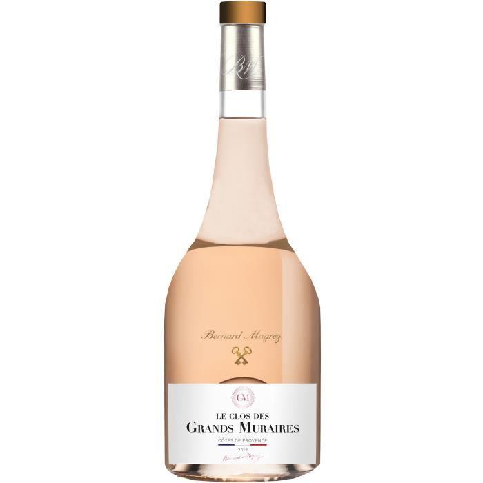Bernard Magrez Le Clos des Grands Muraires 2019 Côtes de Provence - Vin rosé de Provence