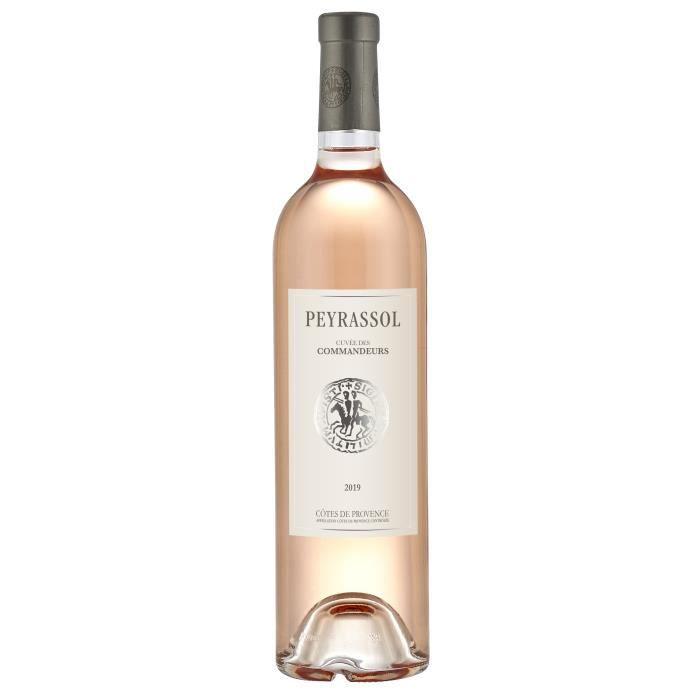 Commanderie de Peyrassol Cuvée des Commandeurs 2019 Côtes de Provence - Vin rosé de Provence