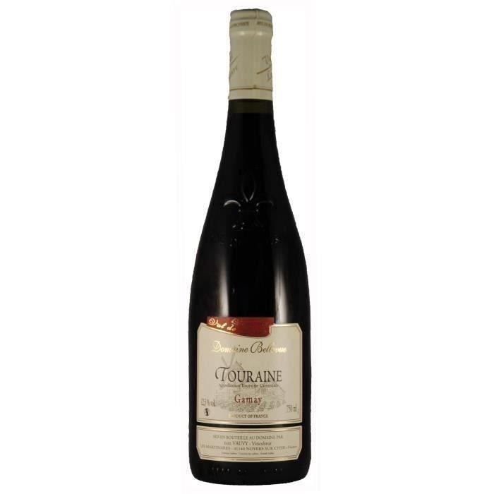 Domaine Bellevue 2019 Touraine Gamay - Vin Rouge du Val de Loire