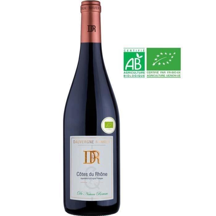 Dauvergne Ranvier 2019 Côtes du Rhône - Vin rouge de la Vallée du Rhône - Bio