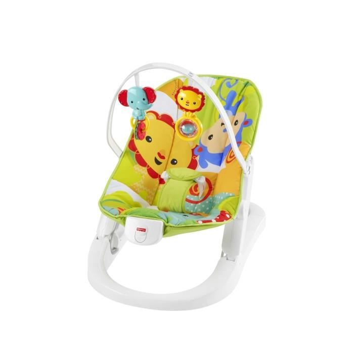 FISHER-PRICE - Transat repliable amis jungle