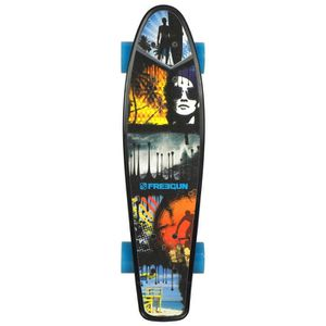 FREEGUN Skateboard Vintage Stripe 22,5''