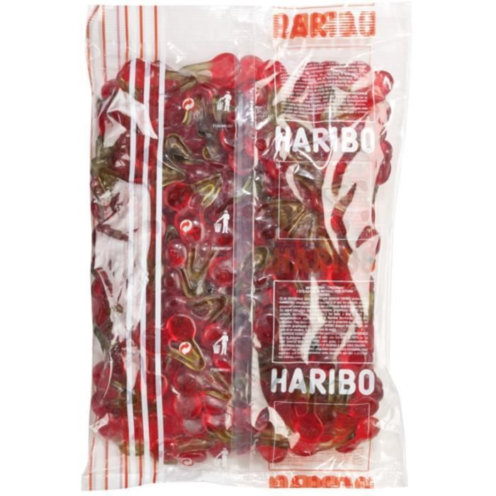 HARIBO Sac 2KG Vrac Happy Cherry