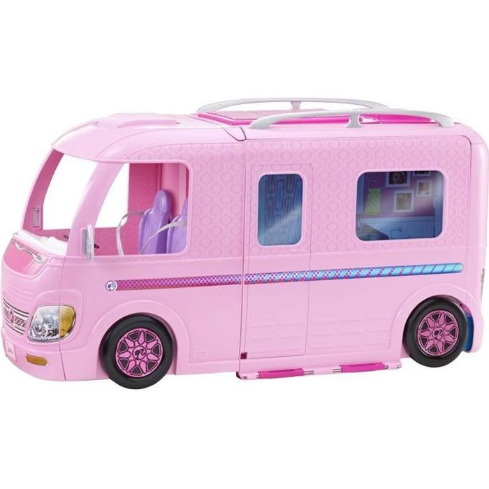 BARBIE - Camping Car Transformable