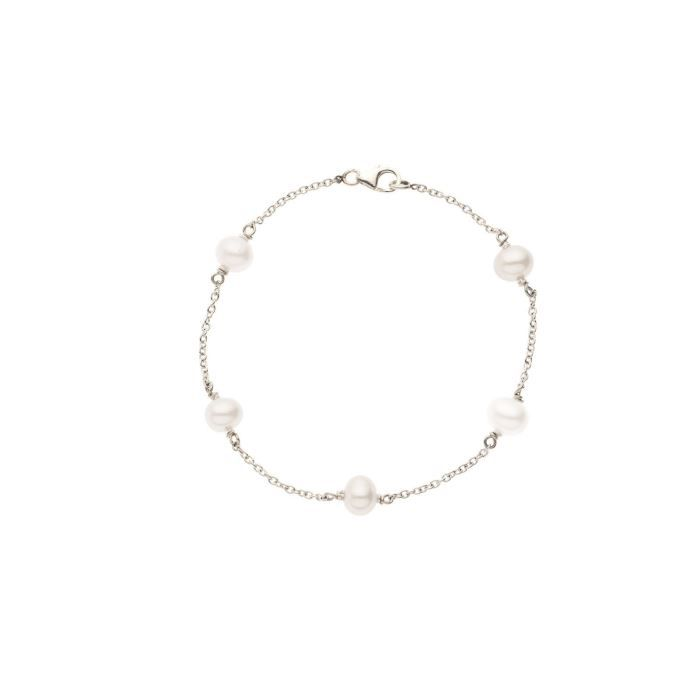 PERLINEA Bracelet Argent 925° et Perle Femme