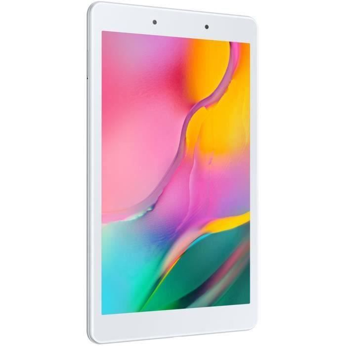 Tablette Tactile - SAMSUNG Galaxy Tab A - 8- - RAM 2Go - Android 9.0 - Stockage 32Go - WiFi - Argent