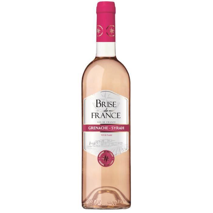 Brise de France 2020 VDF Syrah-Grenache - Vin rosé de Languedoc-Roussillon