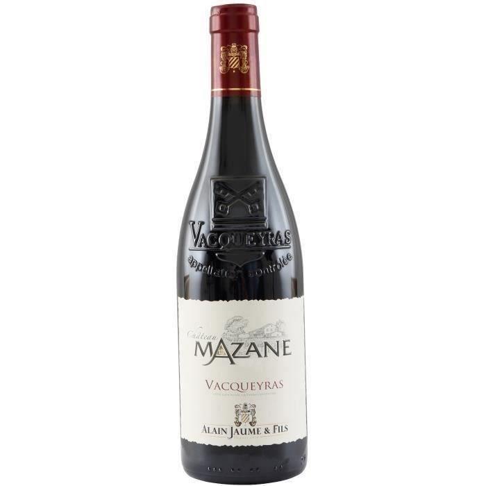 Alain Jaume Château Mazane 2014 Vacqueyras - Vin rouge des Côtes du Rhône