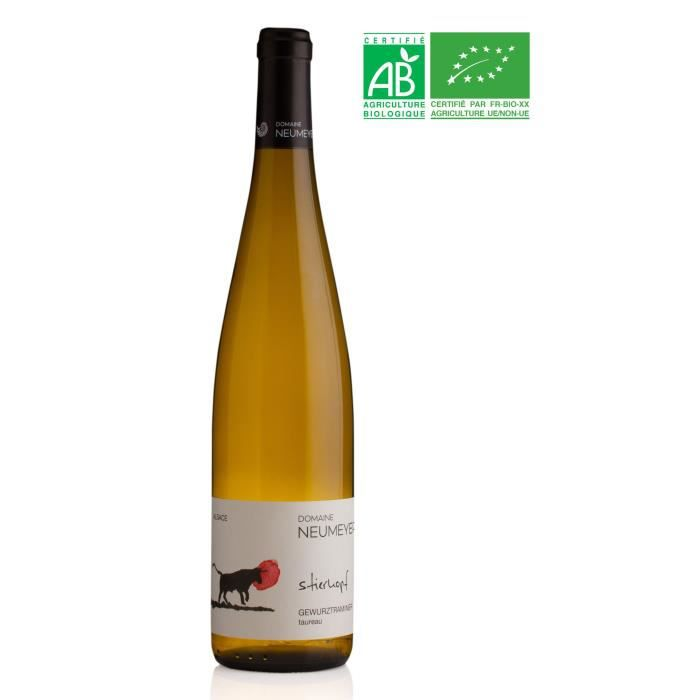 Domaine NEUMEYER 2017 Gewurztraminer - Vin blanc d'Alsace - Bio