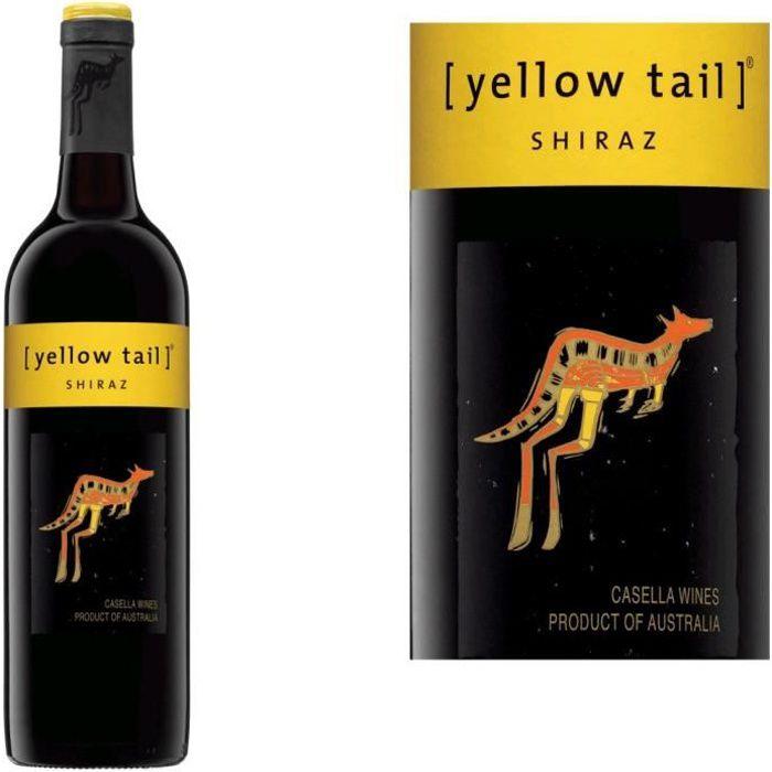 Yellow Tail Shiraz rouge x1