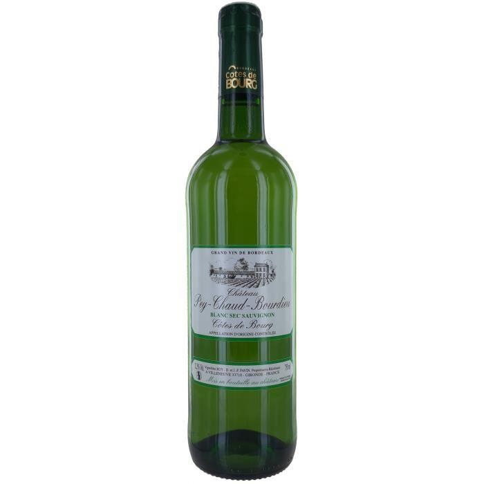 Château Pey-Chaud-Bourdieu 2017 Côtes De Bourg - Vin Blanc de Bordeaux
