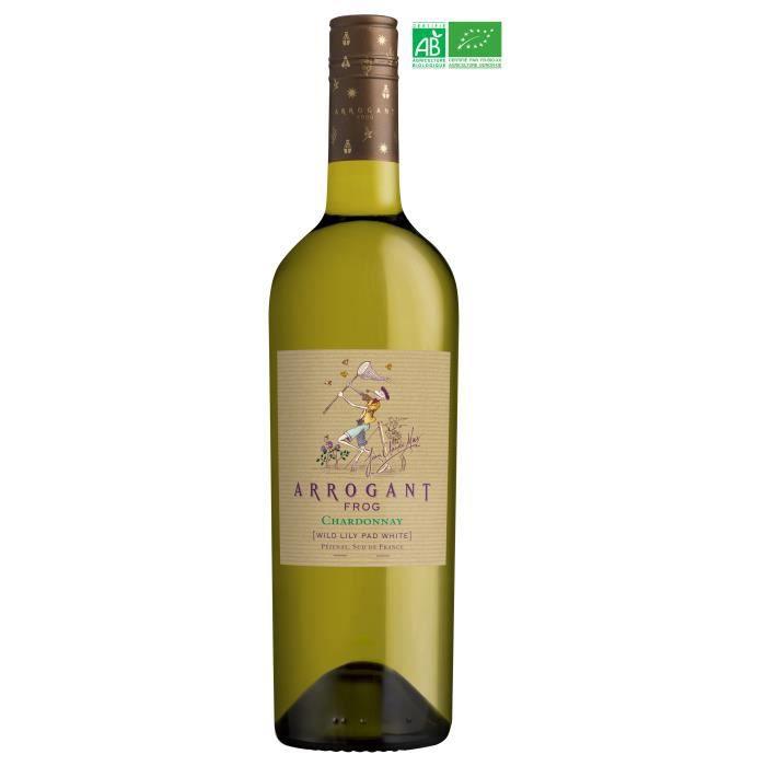 Jean Claude Mas Arrogant Frog Pays d'Oc Chardonnay - Vin blanc de Languedoc - Bio