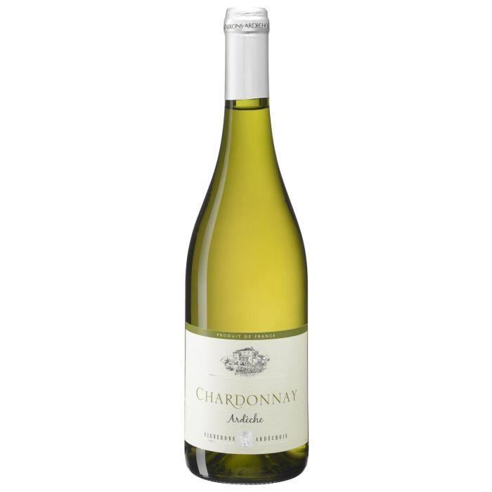 Vignerons Ardéchois 2018 Côteaux de l'Ardèche - Vin blanc de la Vallée du Rhône