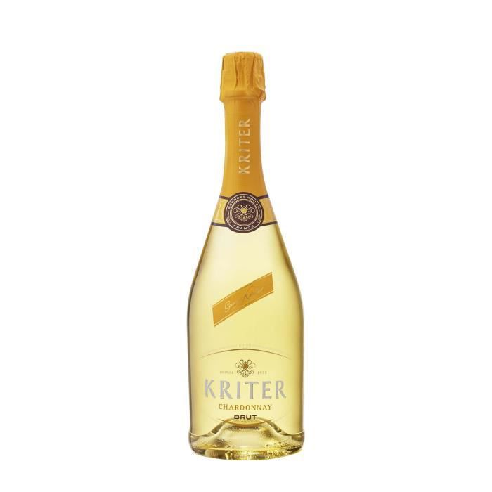 Kriter 100% Chardonnay - Vin effervescent blanc