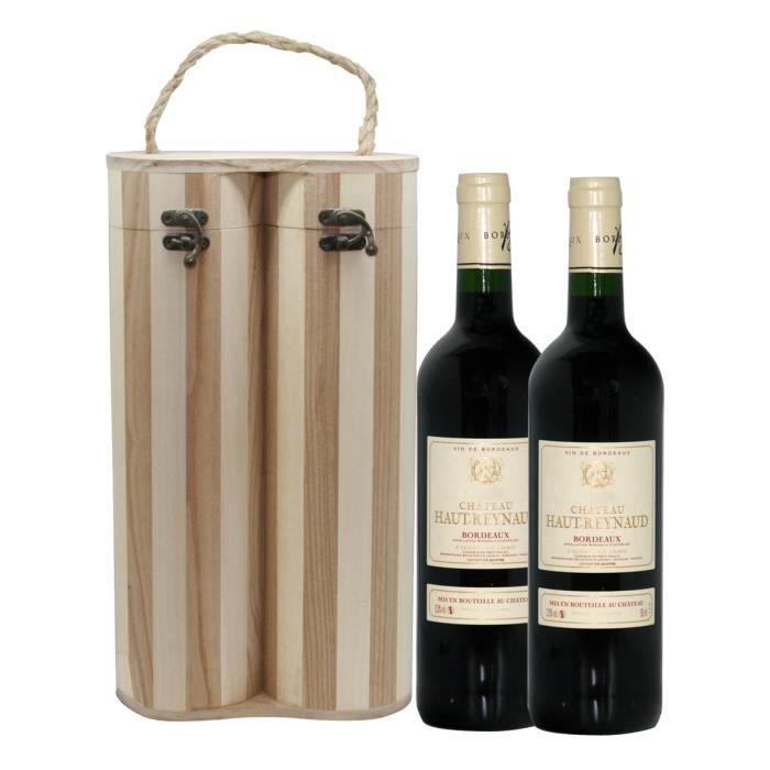 Château Haut Reynaud 2018 Bordeaux - Vin rouge de Bordeaux - 2x75cl