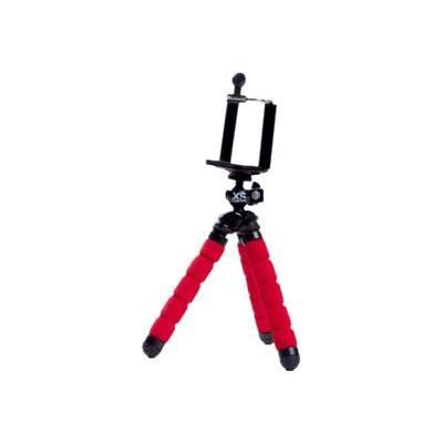 XSORIES Trépied Mini Deluxe + Pholder pour Smartphone Mtrp2 - Rouge