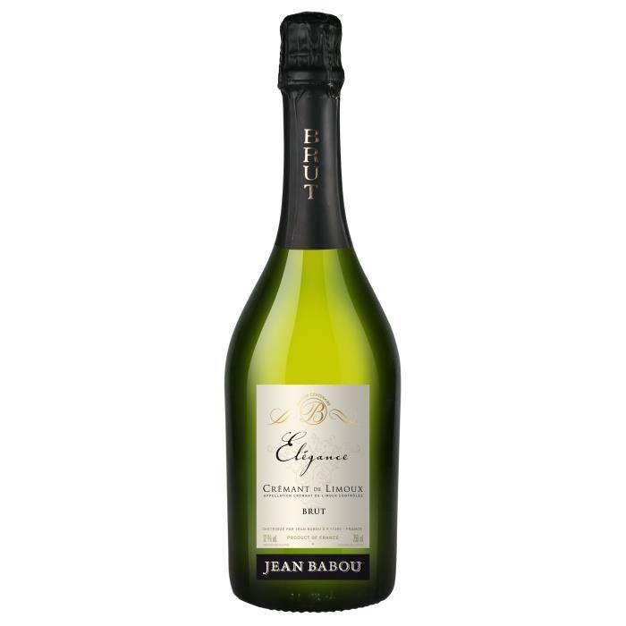 Jean babou Elégance Brut - Crémant de Limoux Blanc