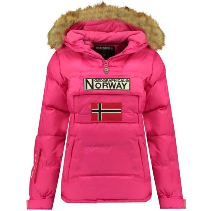 GEOGRAPHICAL NORWAY Doudoune Bianca 068 - Femme - Rose flash