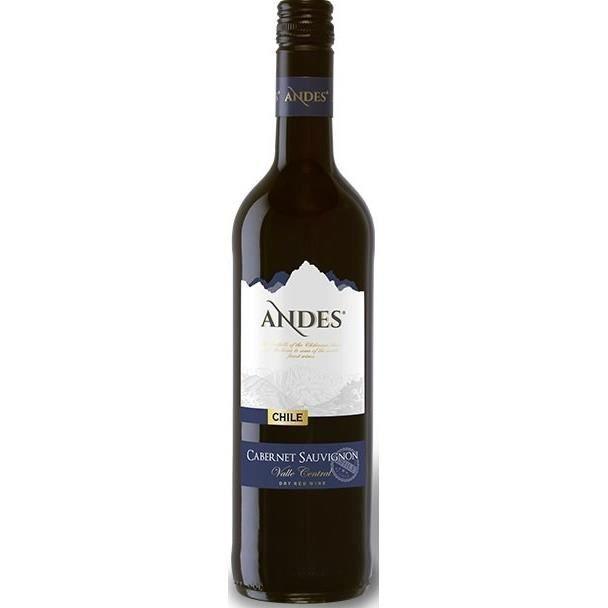 ANDES Cabernet Sauvignon Vin du Chili - Rouge - 75 cl