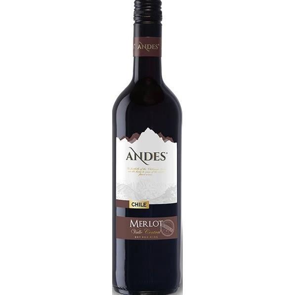 Andes Merlot - Vin rouge du Chili