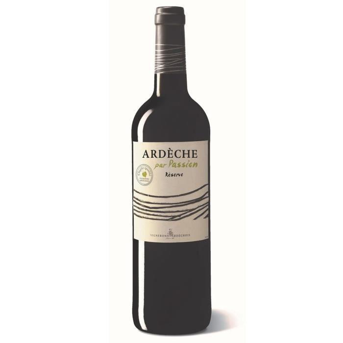 Vignerons Ardéchois 2019 Côteaux de l'Ardèche - Vin rouge de la Vallée du Rhône