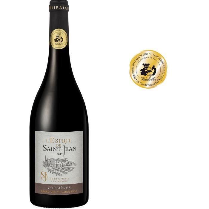 L'Esprit de Saint-Jean 2017 Corbières - Vin rouge de Languedoc