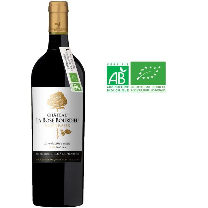 Château La Rose Bourdieu 2016 Bordeaux - Vin rouge de Bordeaux - Bio