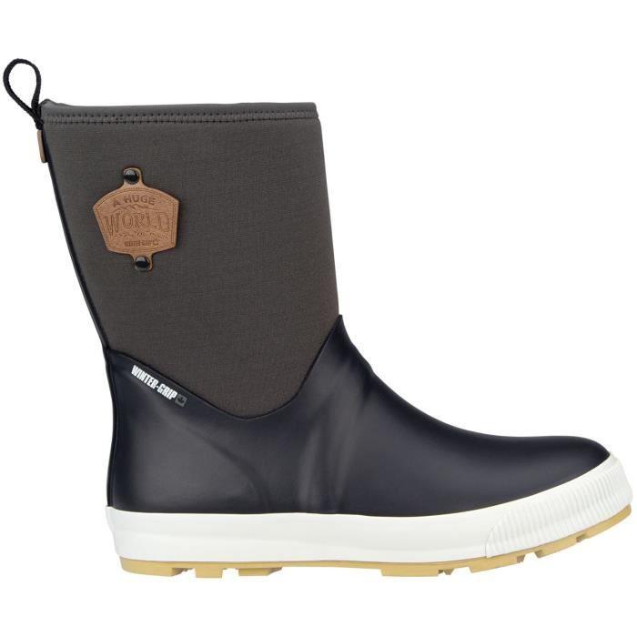 WINTER GRIP Chaussures Après skis Néoprène - Femme - Gris