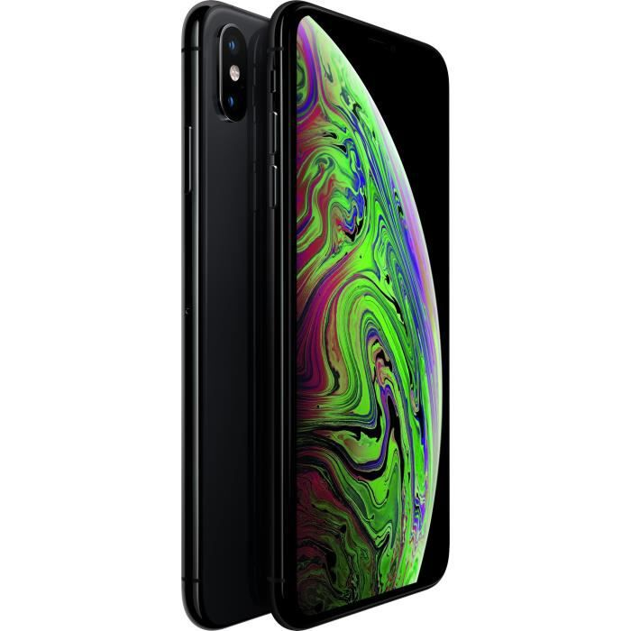 APPLE iPhone Xs Max - 64 Go - Gris Sidéral