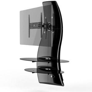 GHOST DESIGN 2000 ROTATION Meuble TV support Noir