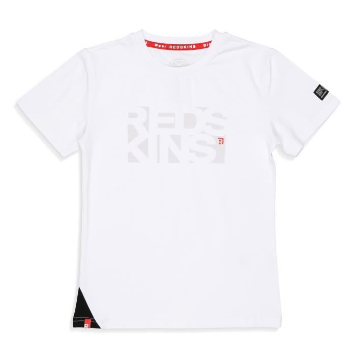 REDSKINS T-Shirt Oruro Blanc Garçon