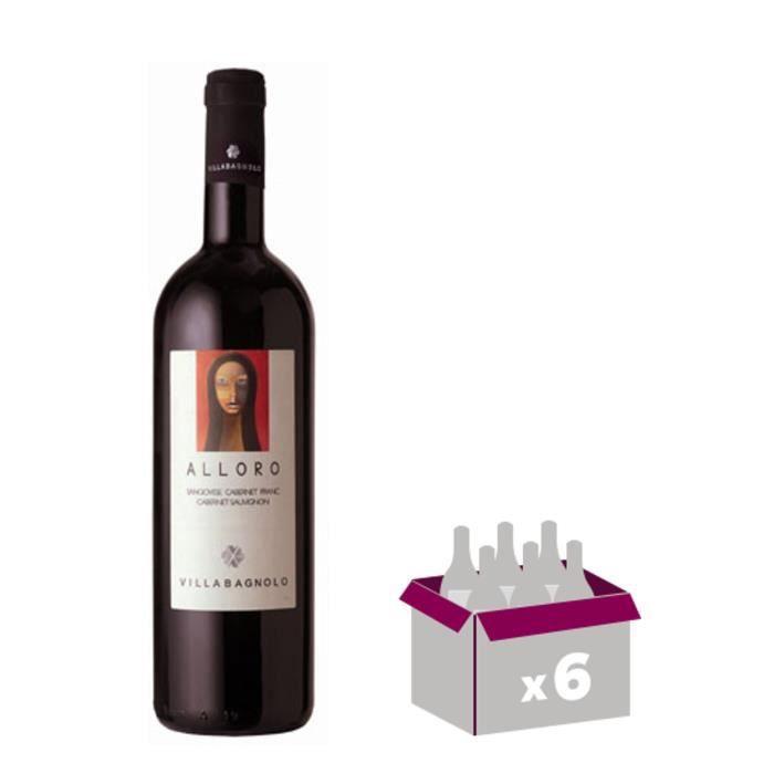 VILLA BAGNOLO Alloro Forti Vin d'Italie - Rouge - 75 cl x 6