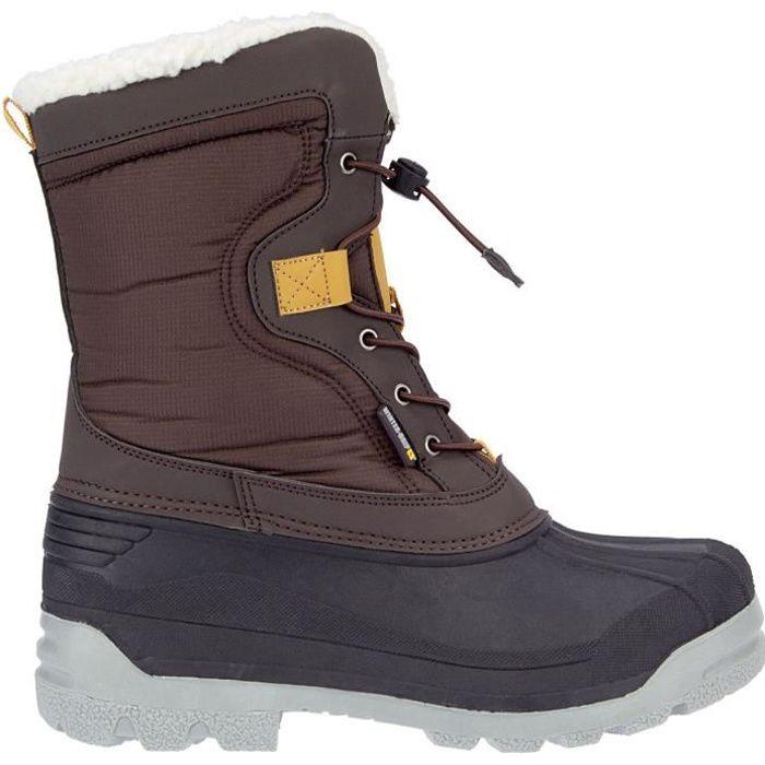 WINTER GRIP Chaussures Après skis Canadian Explorer - Homme - Marron
