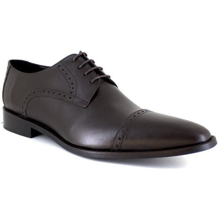 J.BRADFORD JB-GLOC Marron Chaussure Homme