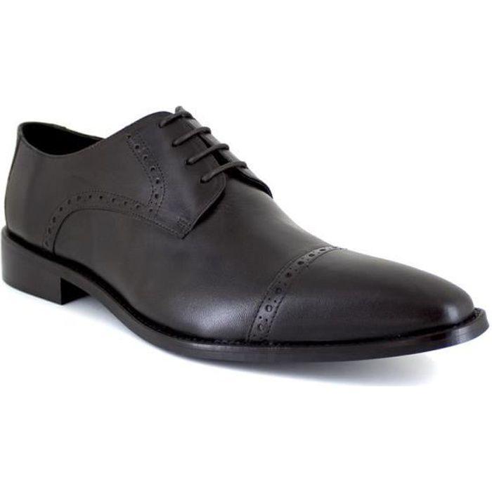 J.BRADFORD JB-GREG Marron Chaussure Homme