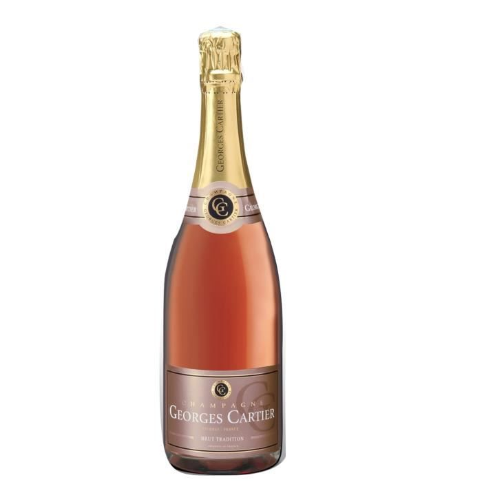Champagne Georges Cartier Tradition Rosé - 75 cl