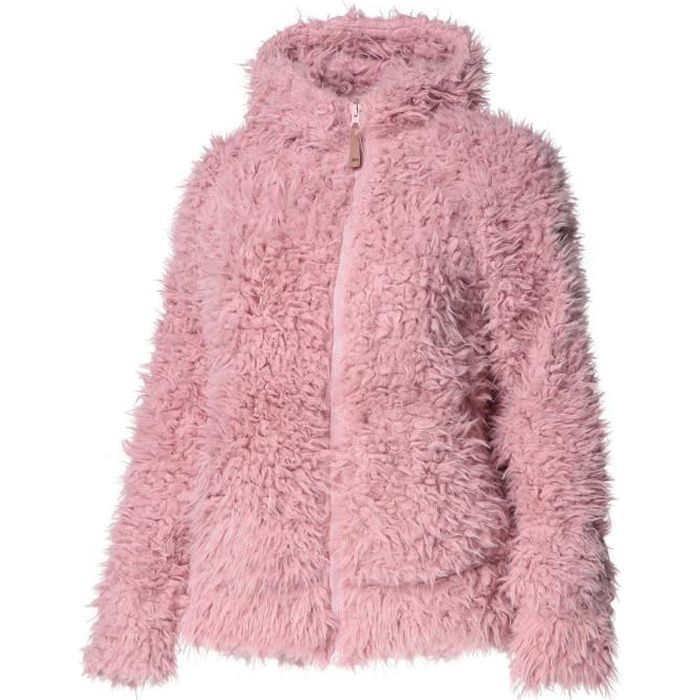 TRESPASS Polaire Fluffyness - Femme - Rose
