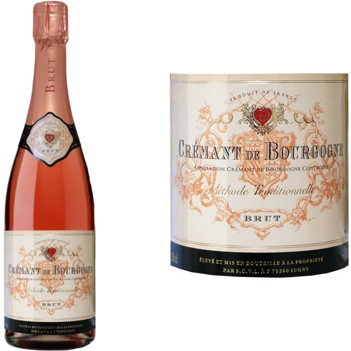 Cave de Lugny - Crémant de Bourgogne Rosé