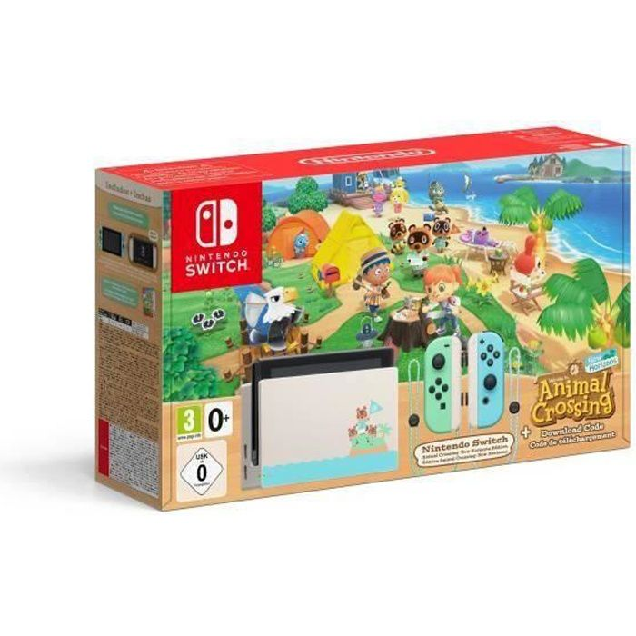 Console Nintendo Switch Animal Crossing