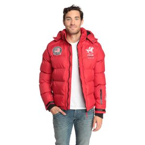 Doudoune Geographical Norway Cardinal Rouge
